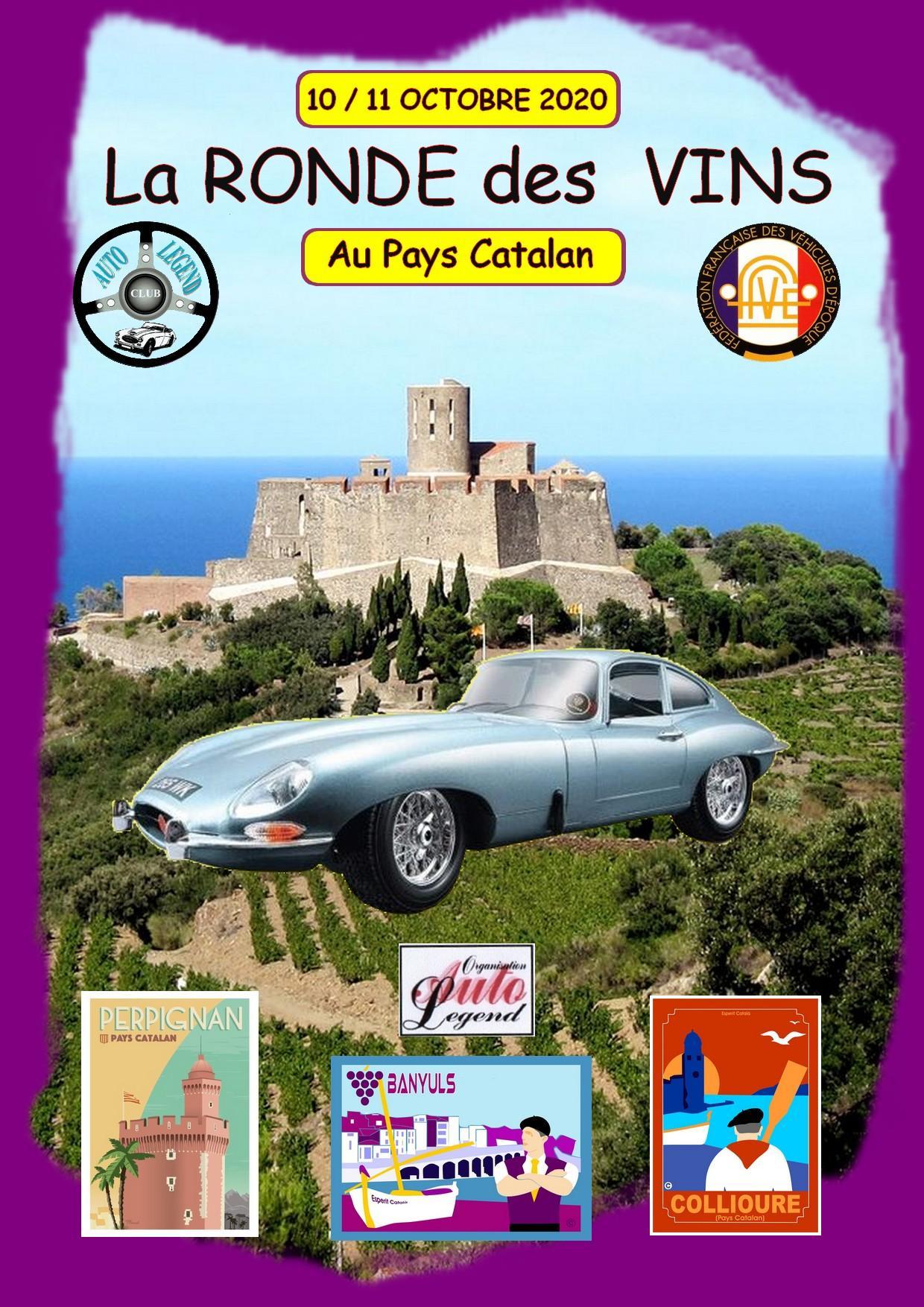Affiche ronde vins 2020